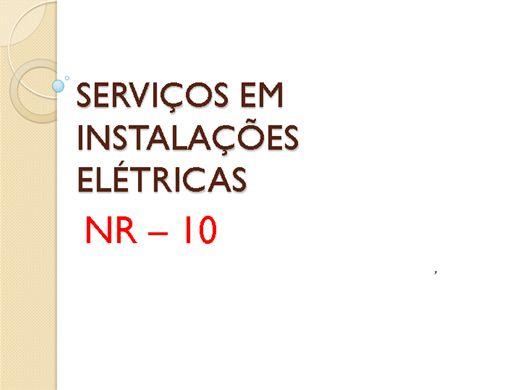 Curso Online de Serviços em Eletricidade