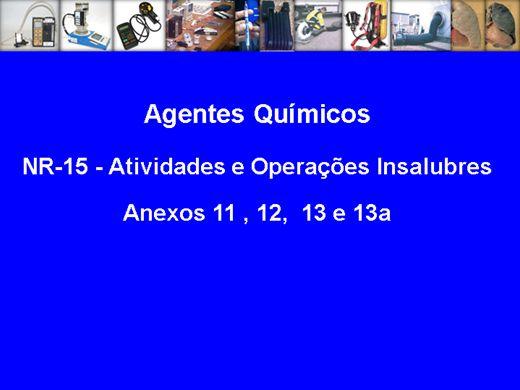 Curso Online de Agentes Quimicos
