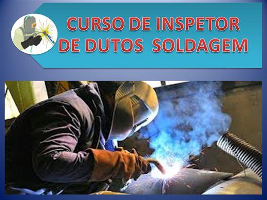 Curso Online de SOLDA INSPETOR DE DUTOS