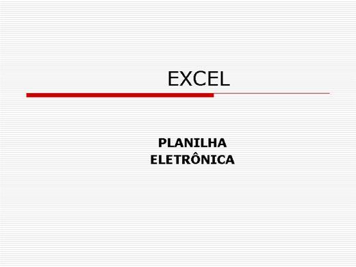 Curso Online de Excel 2003 - (Curso Básico Completo)