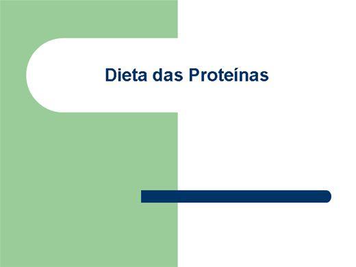 Curso Online de Dieta das Proteínas