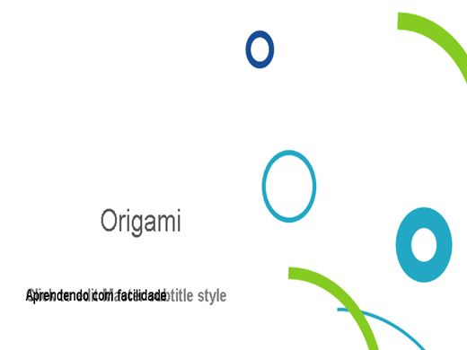 Curso Online de Aula de Origamis