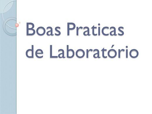Curso Online de Curso Online de Boas Praticas de Laboratório