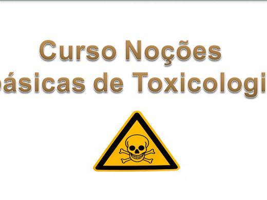 Curso Online de Noções Básicas de Toxicologia