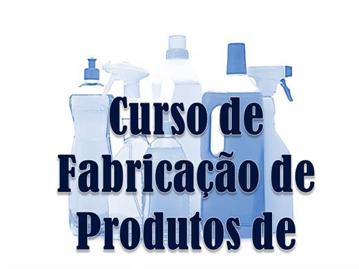 Curso Online de Aprenda a  fazer Produtos de Limpeza