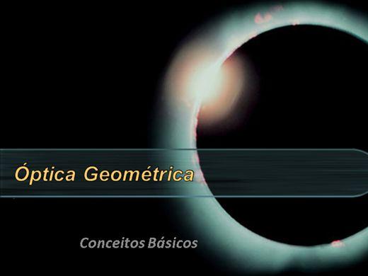 Curso Online de Óptica Geométrica - Conceitos Básicos
