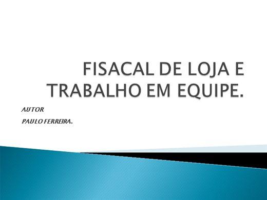 Curso Online de TRABALHO EM EQUIPE E FISCAL DE LOJA