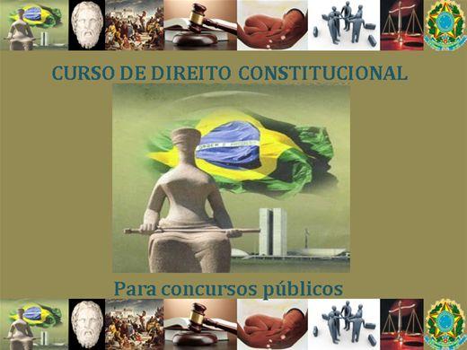 Curso Online de Direito Constitucional para Concursos Pùblicos