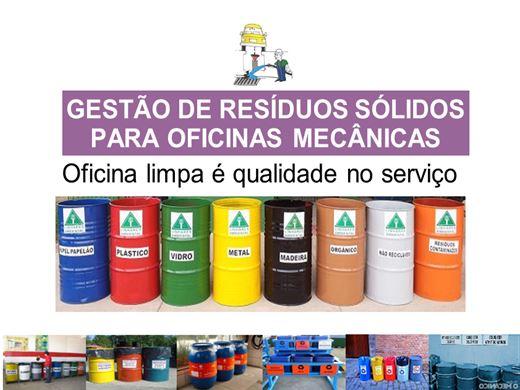 Curso Online de Gestão de Resíduos Sólidos de Oficinas Mecânicas