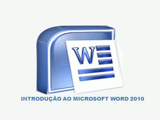 Curso Online de INTRODUÇÃO AO MICROSOFT WORD 2010