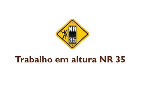 Curso Online de ATUALIZAÇÃO NR35