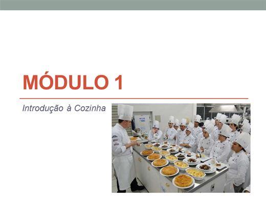 Curso Online de AUXILIAR DE COZINHA NÍVEL 1
