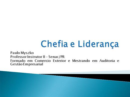 Curso Online de Chefia e Liderança