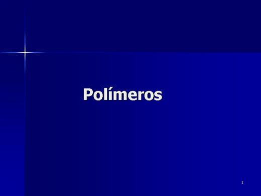 Curso Online de Polímeros