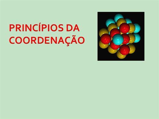 Curso Online de Princípios de coordenação - Cristais