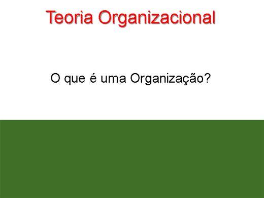 Curso Online de Teoria organizacional