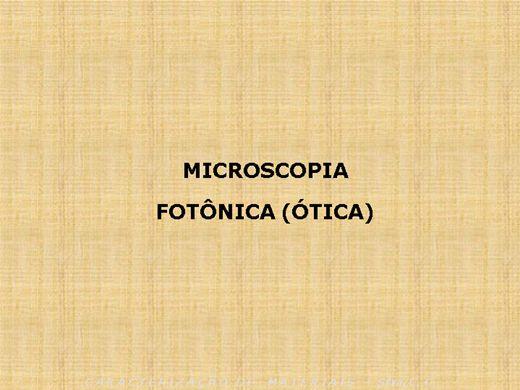 Curso Online de Microscopia ótica
