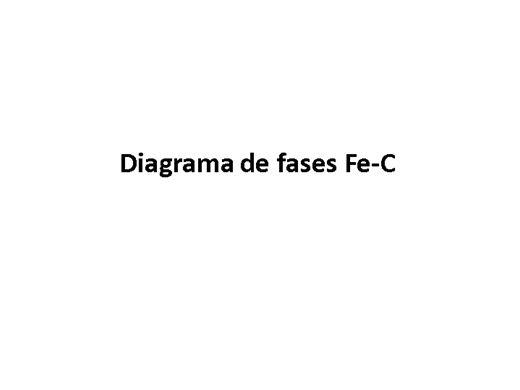 Curso Online de Diagrama de fases Fe-C