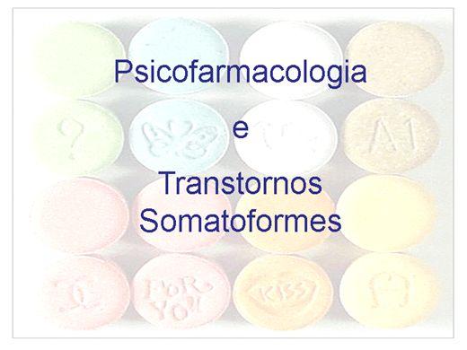 Curso Online de Psicofarmacologia  e Transtornos Somatoformes