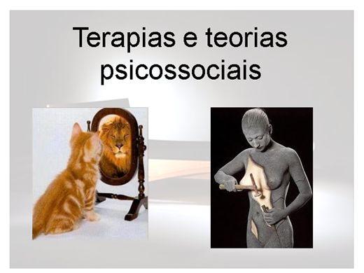 Curso Online de Terapias e teorias psicossociais