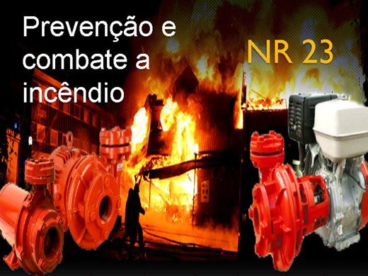 Curso Online de Prevenção e combate a incêndio NR 23