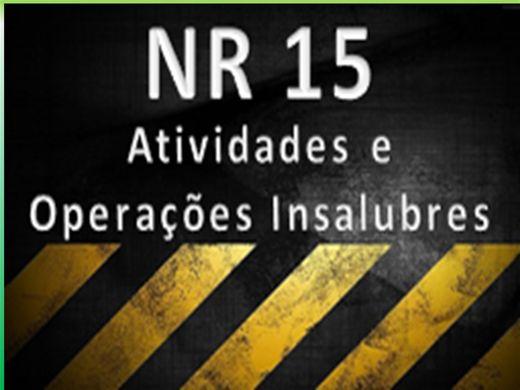 Curso Online de NR 15