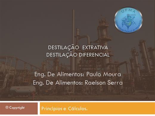 Curso Online de Destilação Extrativa e Diferencial