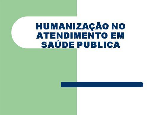 Curso Online de Humanização do atendimento em saúde publica