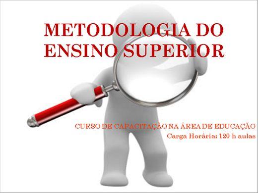 Curso Online de Metodologia no Ensino Superior