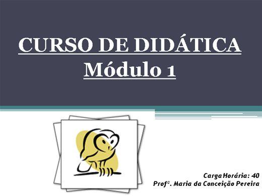 Curso Online de DIDÁTICA módulo 1
