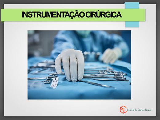Curso Online de Instrumentação Cirúrgica Básica e seus instrumentais