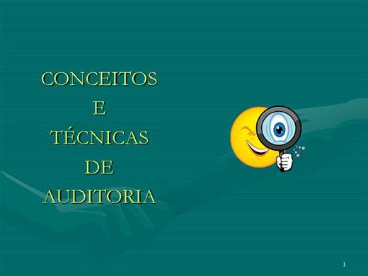 Curso Online de Conceitos e Técnicas de Auditoria