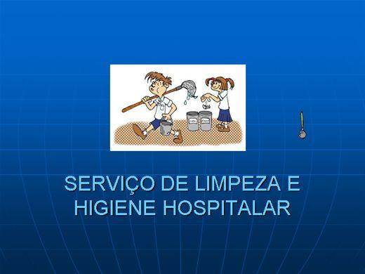 Curso Online de SERVIÇO DE LIMPEZA E HIGIENE HOSPITALAR