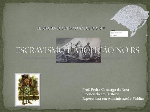 Curso Online de História do Rio Grande do Sul