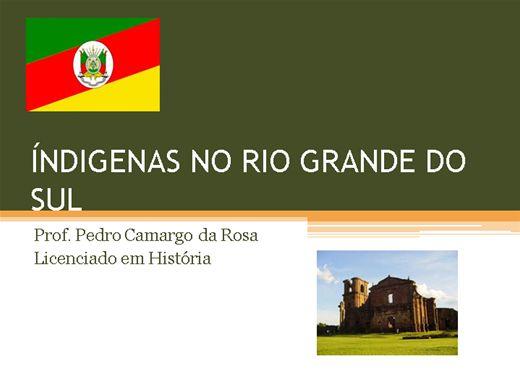 Curso Online de INDÍGENAS NO RIO GRANDE DO SUL