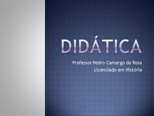 Curso Online de DIDÁTICA
