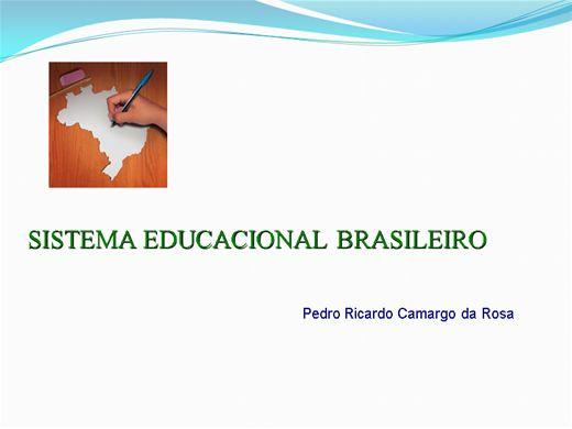 Curso Online de SISTEMA EDUCACIONAL BRASILEIRO