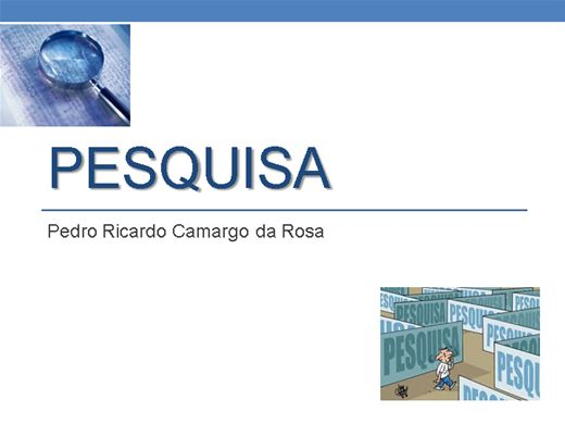Curso Online de PESQUISA