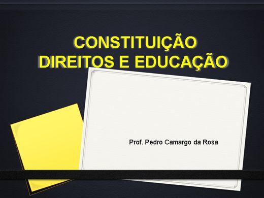 Curso Online de DIREITOS E EDUCAÇÃO