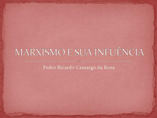 Curso Online de MARXISMO E SUAS INFLUÊNCIAS