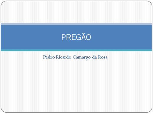 Curso Online de PREGÃO