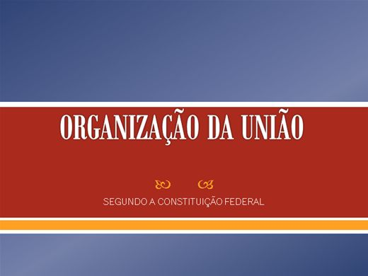 Curso Online de Organização Política da União