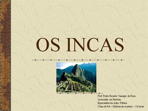 Curso Online de HISTÓRIA - IMPÉRIO INCA
