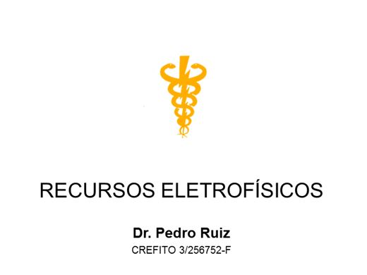 Curso Online de Recursos Eletrofísicos em Fisioterapia