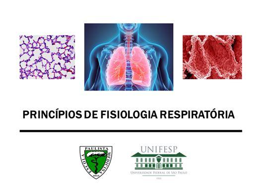 Curso Online de Princípios de Fisiologia Respiratória
