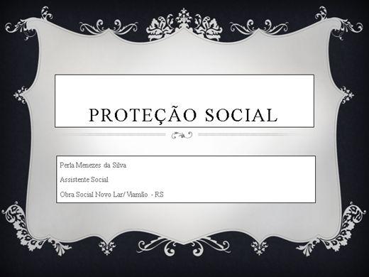 Curso Online de Proteção Social