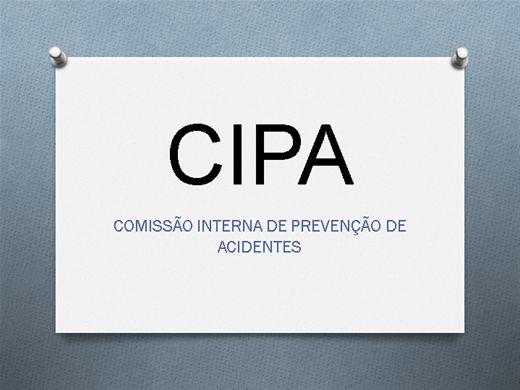 Curso Online de CIPA - COMISSÃO INTERNA DE PREVENÇÃO DE ACIDENTES