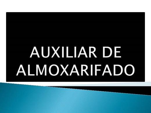 Curso Online de AUXILIAR DE ALMOXARIFADO