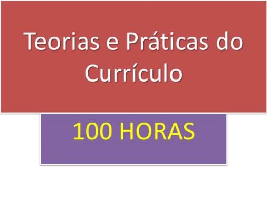Curso Online de TEORIAS E PRÁTICAS DO CURRÍCULO
