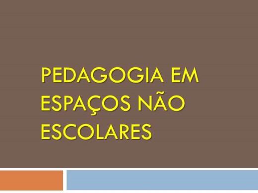 Curso Online de PEDAGOGIA EM ESPAÇOS NÃO ESCOLARES